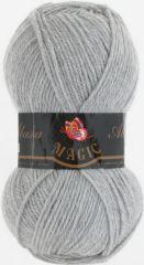 №5821 светло-серый меланж